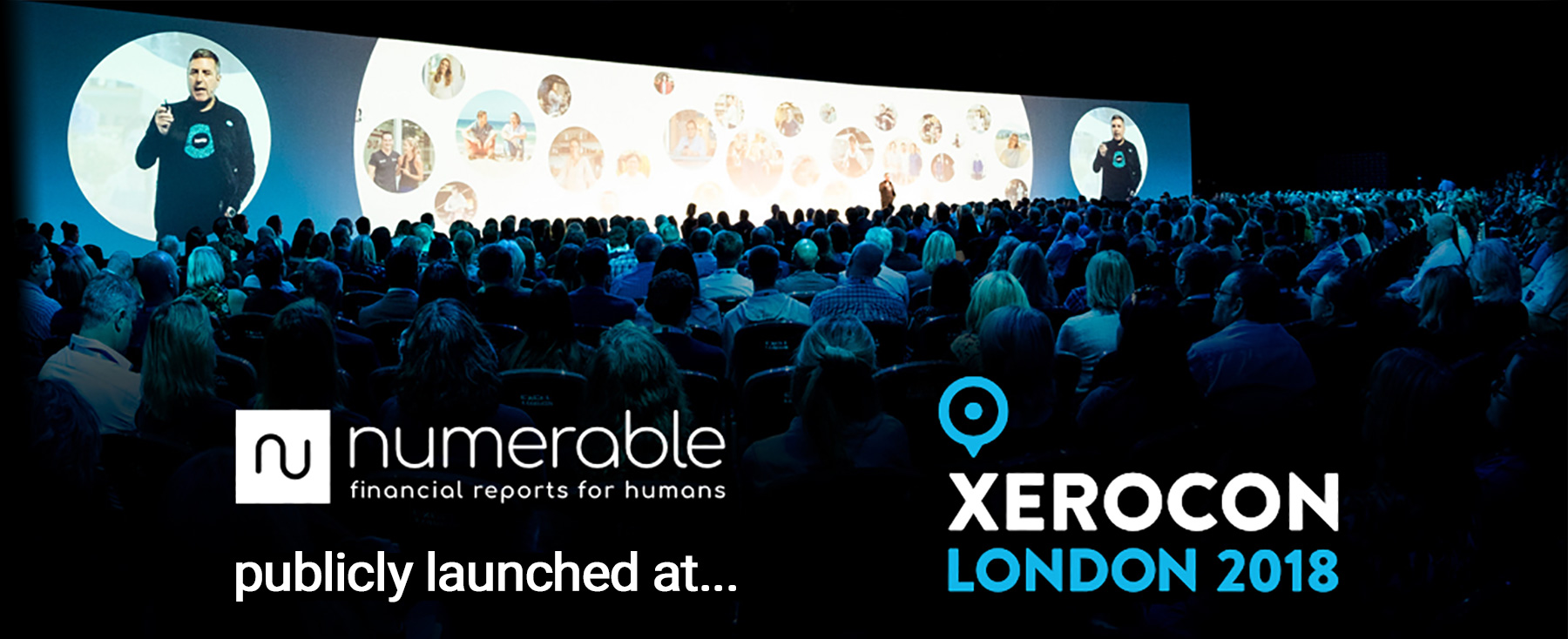 Numerable launched at Xerocon London 2018